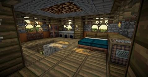 Minecraft House And Interior