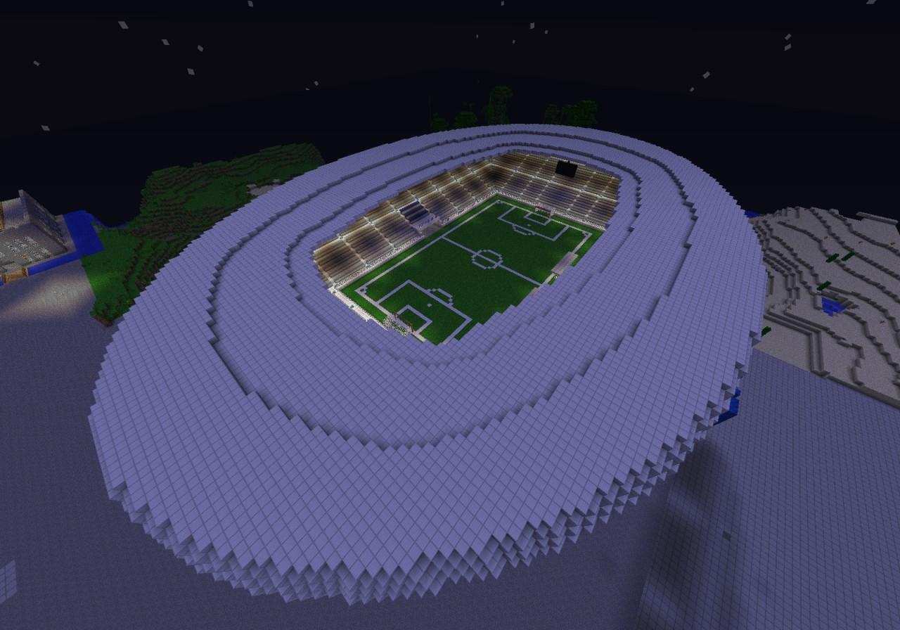 Alianz Arena Minecraft Project
