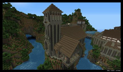 Minecraft Medieval Church Photos Download JPG PNG GIF RAW TIFF PSD PDF and Watch Online