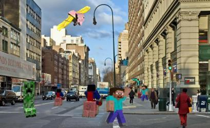 Minecraft City 15