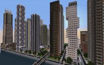 Minecraft City Buildings