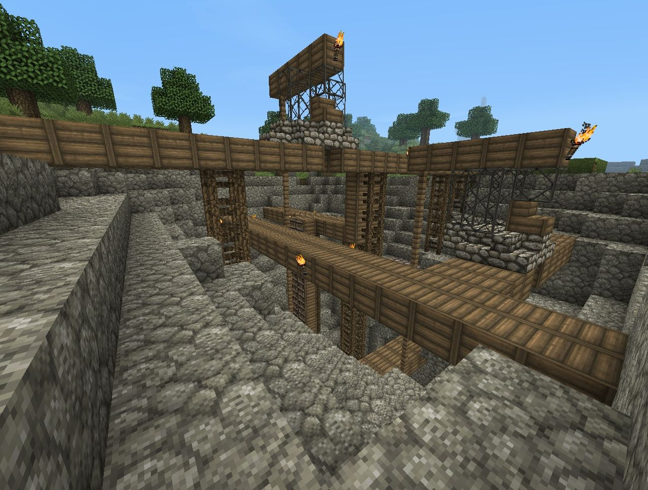 Minecraft World End 2012
