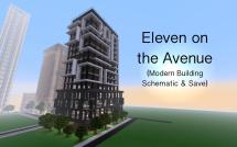 Eleven Avenue Modern Building Minecraft Project