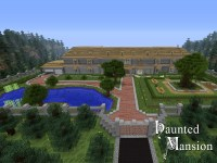 Haunted Mansion PVP / Single Player Minecraft Project