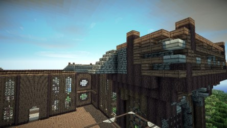 hall town medieval ish project minecraft