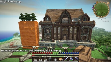 hall town medieval ish info minecraft announcement schemagic pmcview3d feature read