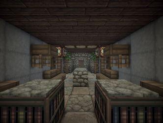 medieval manor dining room minecraft map
