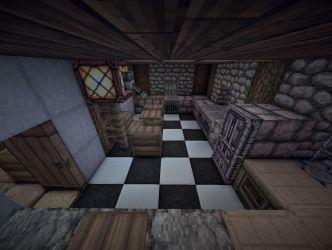 medieval manor kitchen minecraft