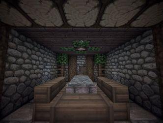 medieval building dining room minecraft