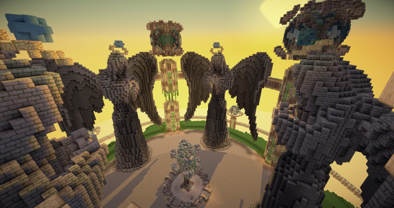 Aquosia Temple Of The Water God DOWNLOAD Minecraft Project