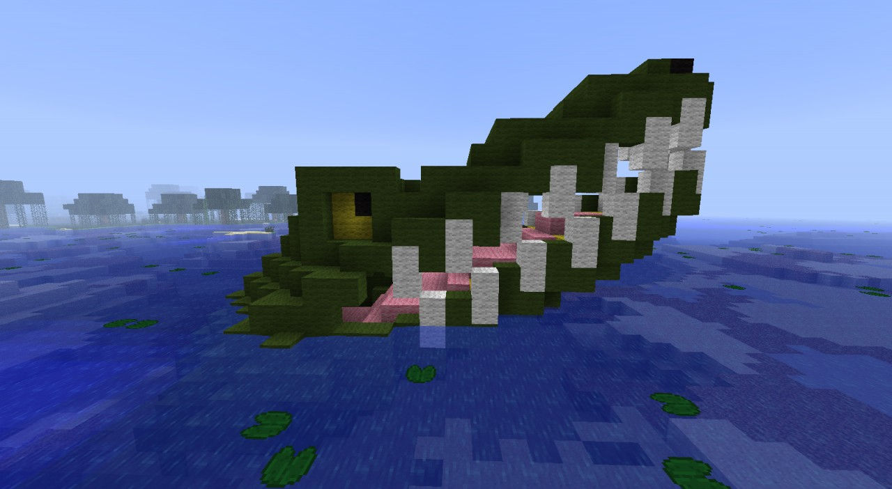 Croc The Hungry Alligator Minecraft Project