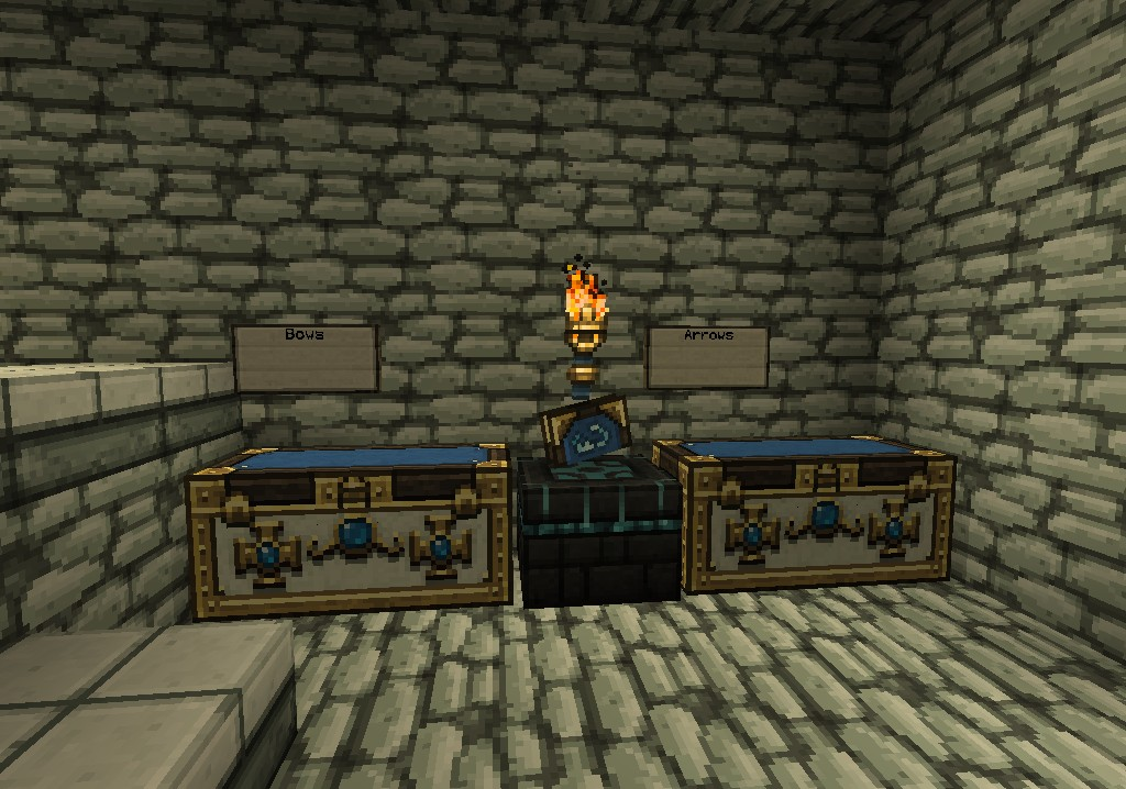 The Defense Castle Minecraft Project