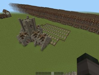 medieval church map pvp minecraft town 1500 downloads farms planetminecraft project