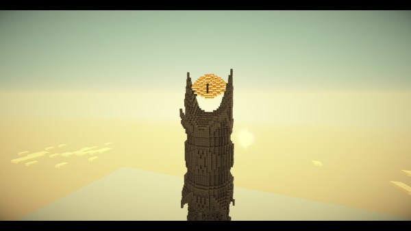 Barad dur The Fortress of Sauron The Eye of Sauron