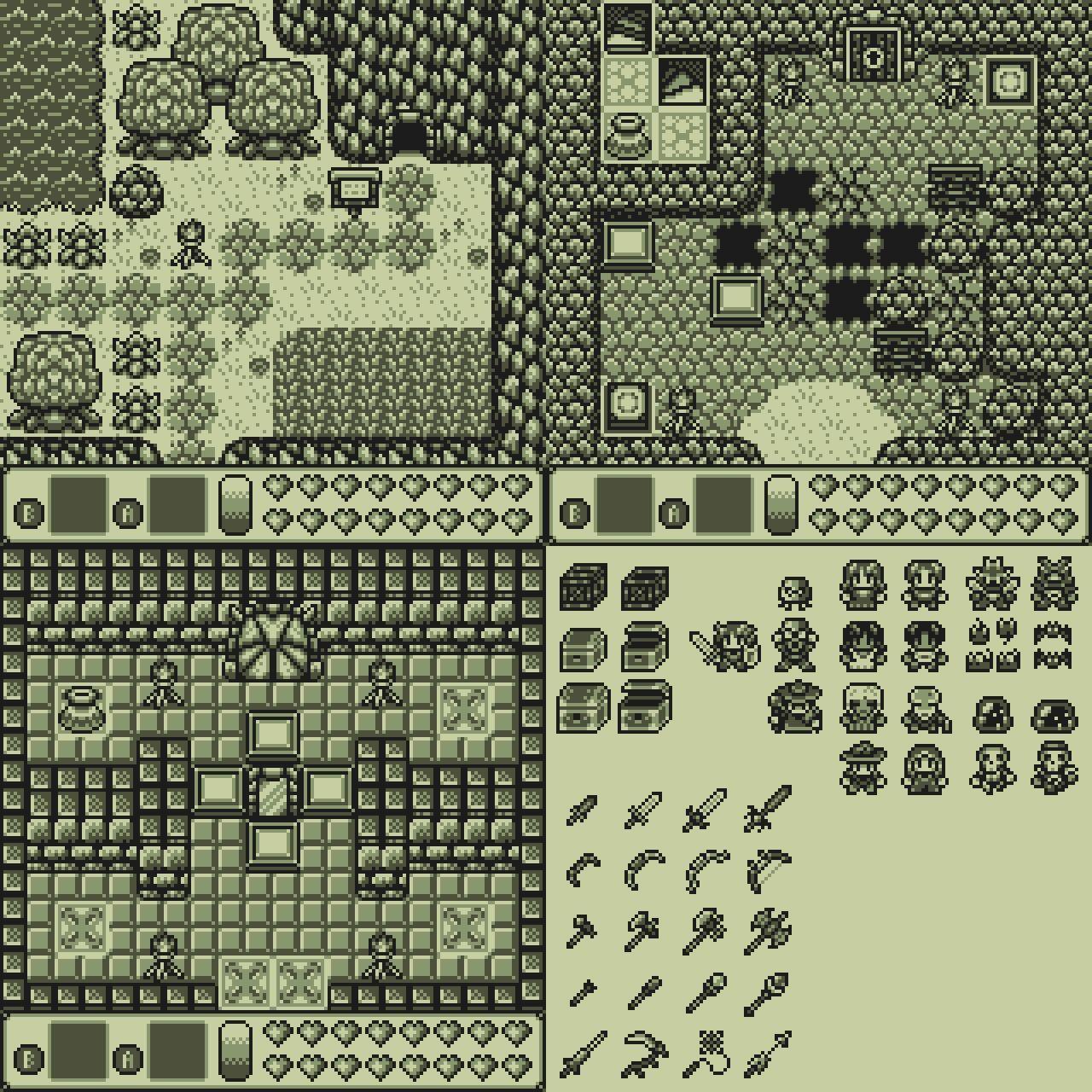 Pixel Art Gameboy Style Minecraft Blog