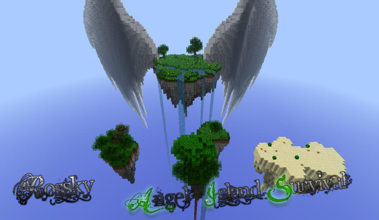 Angel Island Survival Minecraft Project