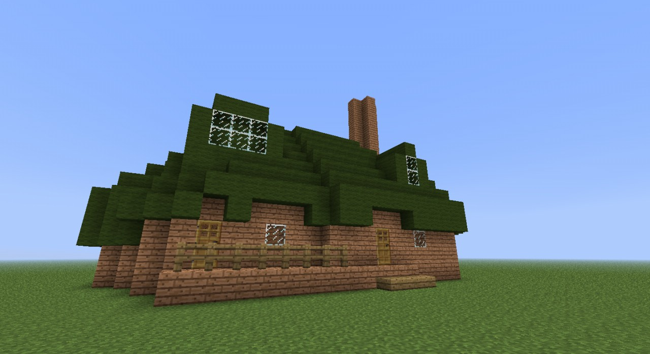 Fluttershys Cottage Minecraft Project