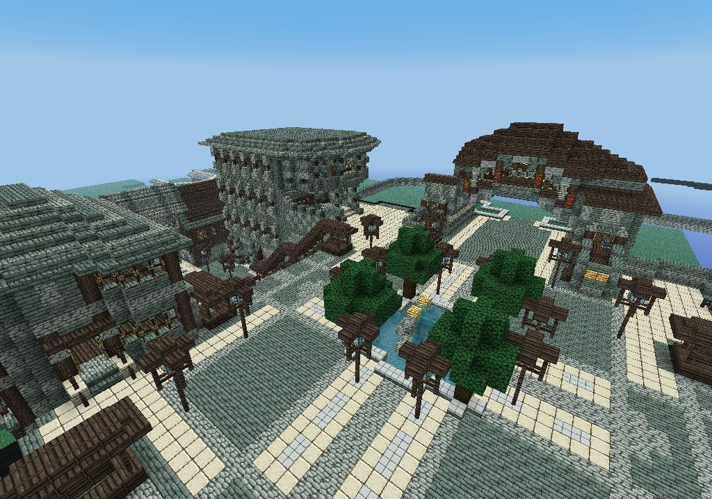 The Royal City Of Rabanastre Minecraft Project