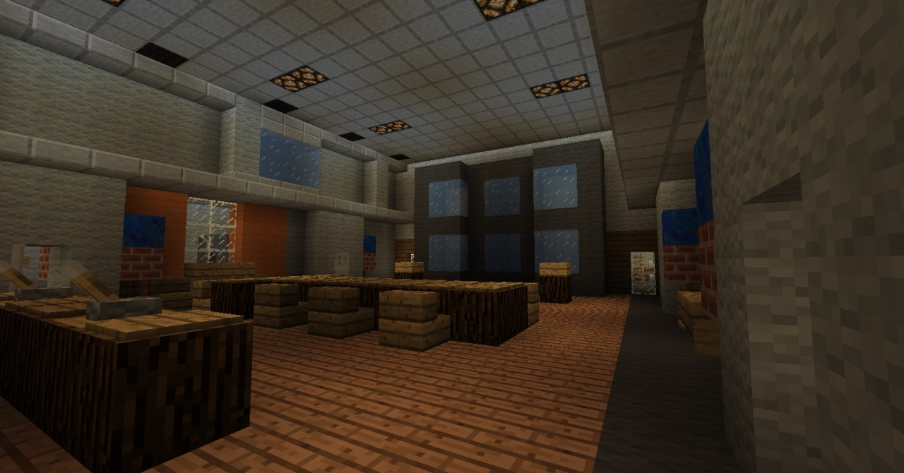 Call of Duty Black Ops ZOMBIES FIVE Custom Map Minecraft