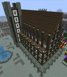 medieval town hall minecraft