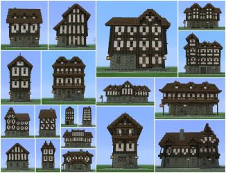 minecraft medieval building buildings village cool pack construction houses planetminecraft castle designs project blueprints creations builds town projects architecture tips