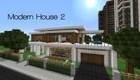 minecraft modern house save file  Modern House