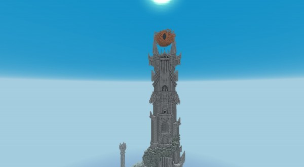 BaradDur Mordor Minecraft Project