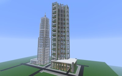 modern minecraft project building crafton detailed finished work started where