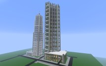 Crafton Detailed Modern City Finished Minecraft