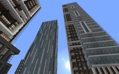 modern buildings detailed minecraft crafton ice finished map