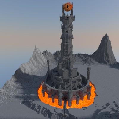 BaradDur Mordor Minecraft Project