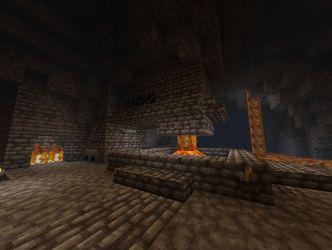 fort forge underground viking minecraft located near which