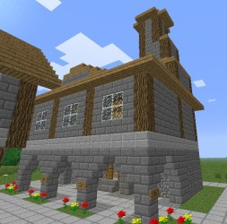 minecraft medieval veil town hall