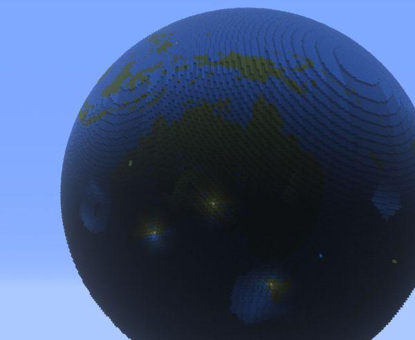 Globe Minecraft Project