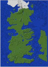 Westeros Map Minecraft : westeros, minecraft, Thrones-Full, Westeros, Map-Perfect, Adventure/Rpg, Style, Servers, Minecraft