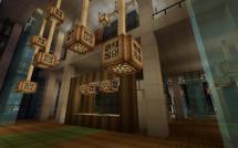Minecraft Hotel Lobby Design
