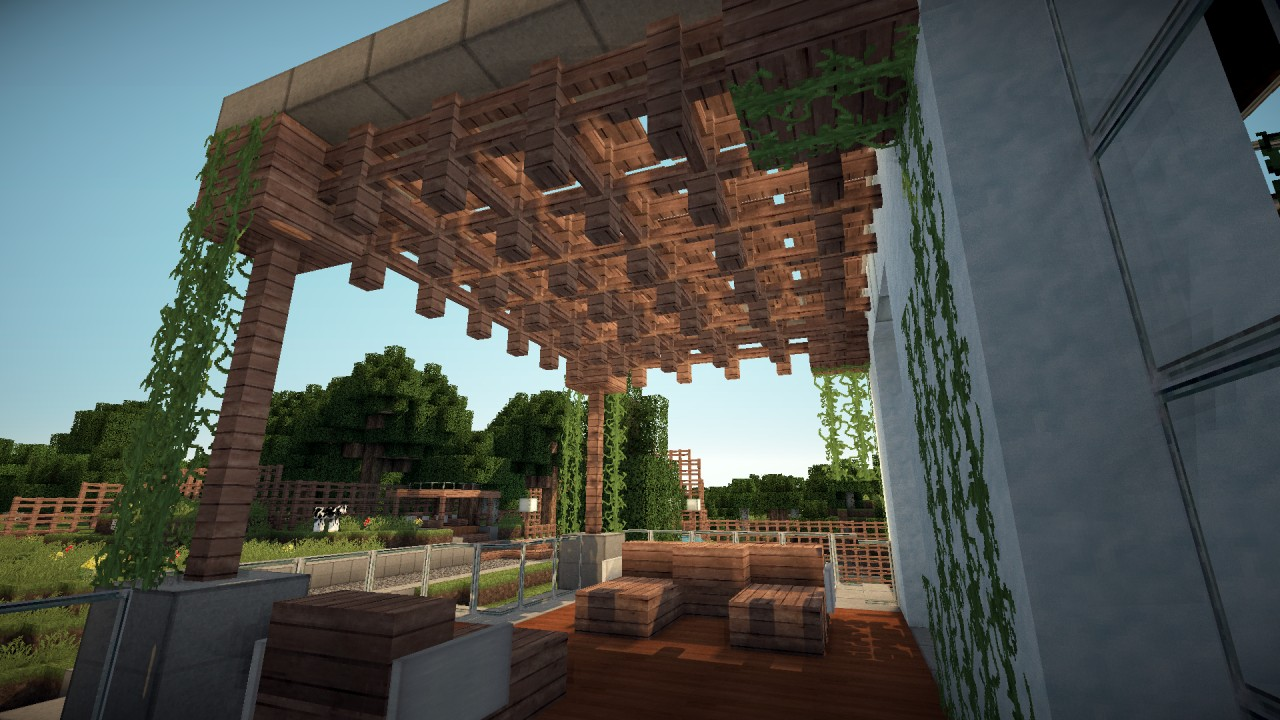 Mordern House  MyHomeDesign Minecraft Project