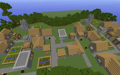village buildings minecraft npc massive added project viewer