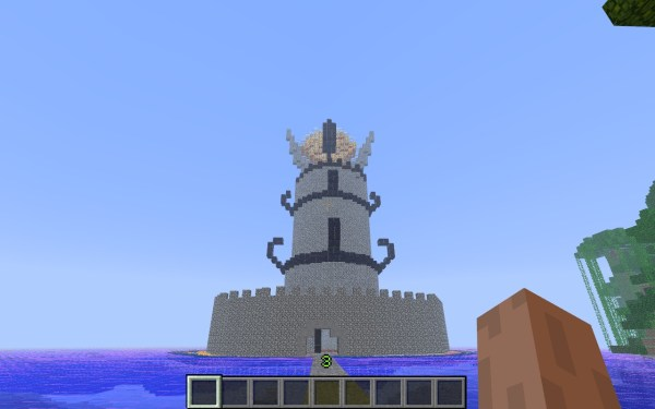 the eye of sauron Minecraft Project