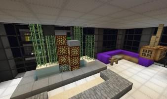 Slanted Valley Interior Design Building [WoK] Minecraft Map