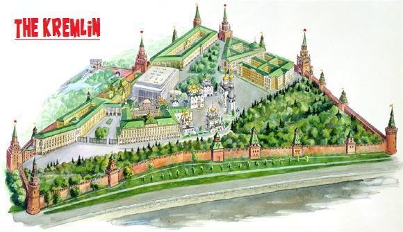 The Kremlin [builders needed] Minecraft Map