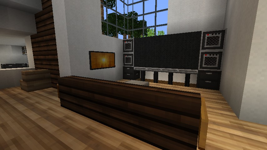 Modern Family Based House Minecraft Project