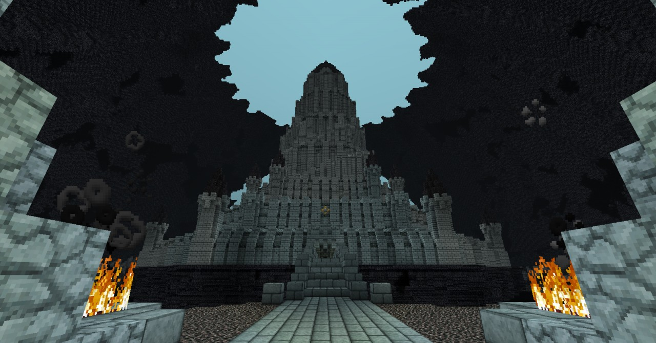 Ganons Castle Ocarina Of Time Version 2 Minecraft Project