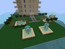 Modern City-hotel Minecraft Project