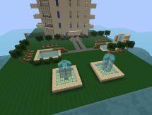Modern City-hotel Minecraft Project