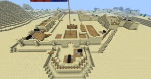 The Alamo (W1NT3RB0RN version) Minecraft Project