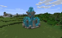 Epic Fountain (NOT MY IDEA) Minecraft Project