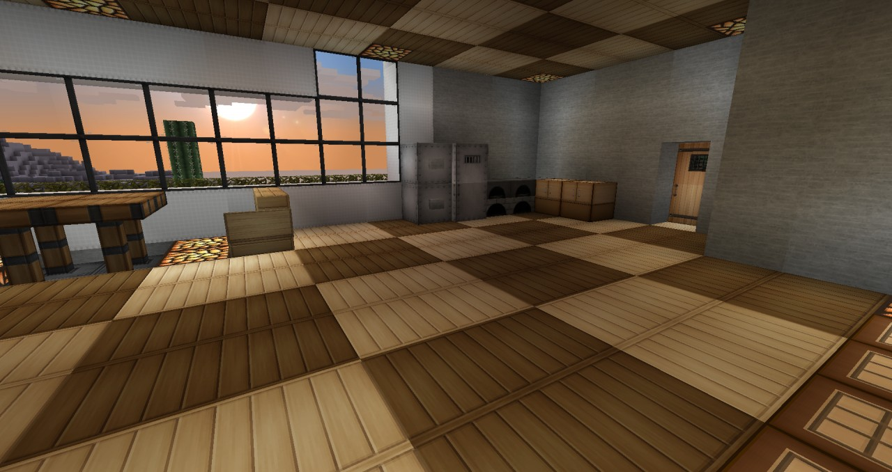 30x30 Modern house Minecraft Project