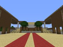 Giant Hotel Complex Minecraft Project