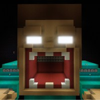 Pics For > Herobrine Head Minecraft